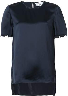 Prabal Gurung short-sleeve shift blouse