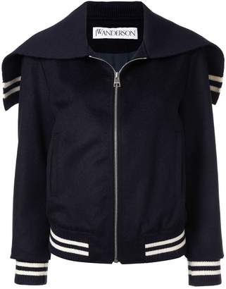 J.W.Anderson cape bomber jacket