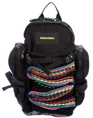 DSQUARED2 Bungee Utility Backpack w/ Tags