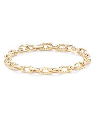 David Yurman 18k Madison Bold Chain Link Bracelet, Size Large