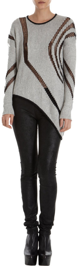 Helmut Lang Intarsia Sweater