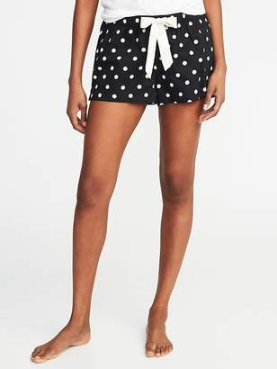 """Old Navy Printed Poplin Boxers for Women (2 1/2"""")"""