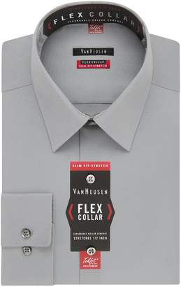 Van Heusen Men's Flex Collar Slim Fit Stretch Dress Shirt