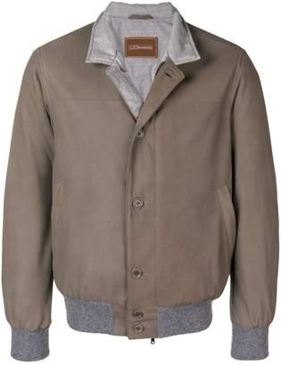 Doriani Cashmere cashmere trim jacket