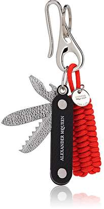 Alexander McQueen Men's Braided Rope & Leather Faux-Knife Key Chain