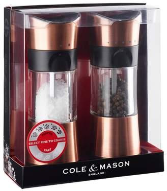 Cole & Mason Copper 'Horsham' Salt And Pepper Mill Set