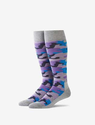 Tommy John Camo Stay-Up Dress Sock