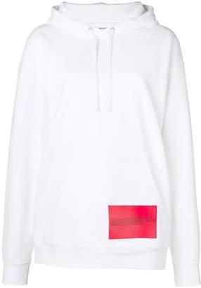 Calvin Klein Jeans Est. 1978 contrast print loose hoodie