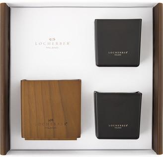 Kashmere Locherber - Two Candles & Holder Gift Set - 210g - Azad