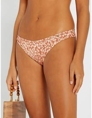 7907674c8c4d4 love stories Firecracker jacquard bikini bottoms