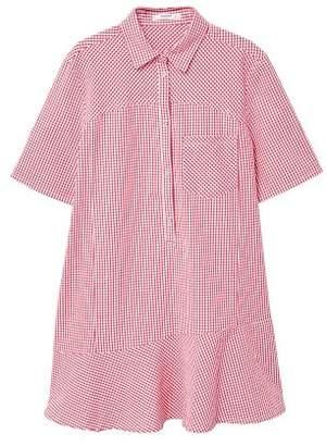 MANGO Gingham check cottoned dress