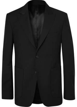 Privee SALLE Black Lloyd Wool And Mohair-Blend Suit Jacket