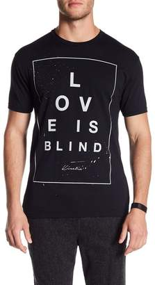 Kinetix Love is Blind Graphic Print Tee