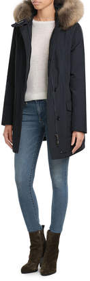 Woolrich Arctic Parka with Fur-Trimmed Hood $679 thestylecure.com