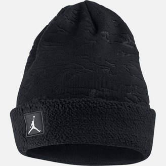 Nike Jordan Cuffed Sherpa Beanie