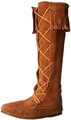 Minnetonka Men's Front Lace Knee Hi Boot