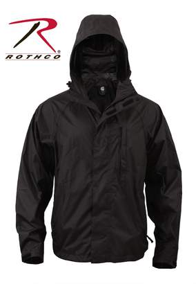 Rothco Men's Packable Rain Jacket in