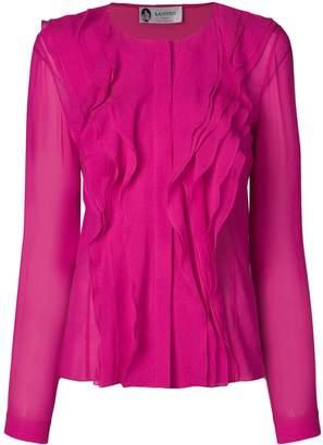Lanvin ruffle detail blouse