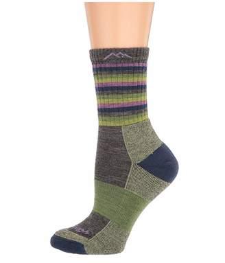 Darn Tough Vermont Merino Wool Micro Crew Stripes Cushion Socks