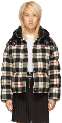 Moncler Black Check Down Caille Jacket