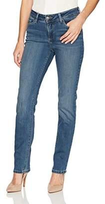 Lee Women's Missy Secretly Shapes Regular Fit Straight Leg Jean