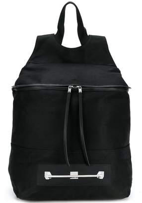 Rick Owens zip pocket backpack