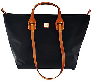 As Is Dooney & Bourke Extra Large Windham Nylon Leighton Tote $148 thestylecure.com