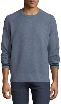 Velvet Crewneck Wool-Blend Sweater