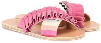 Lemlem X Ancient Greek Sandals Thais Frills sandals