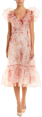 Jill Stuart Silk-Lined Midi Dress