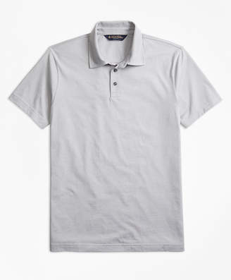 Brooks Brothers Slim Fit Micro-Feeder Stripe Jersey Polo Shirt
