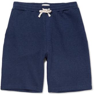 Oliver Spencer Weston Ribbed Cotton Drawstring Shorts