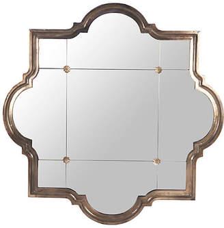 One Kings Lane Harris Oversize Mirror - Bronze
