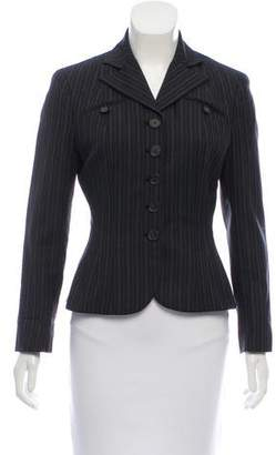 Ralph Lauren Wool Long Sleeve Blazer