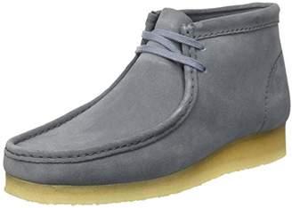 Clarks Men's Wallabee Boot Mocassins, (Slate Blue SDE)