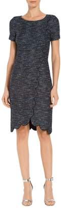 St. John Twinkle Texture Knit Dress