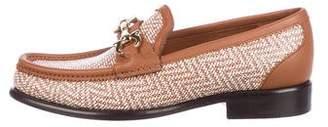 Salvatore Ferragamo Mason Leather Loafers