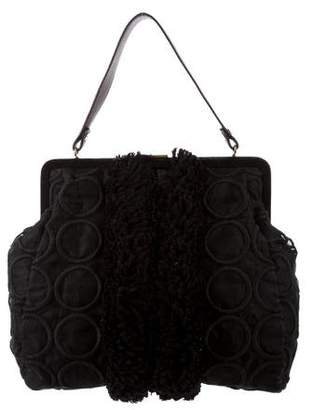 Marni Embellished Handle Bag