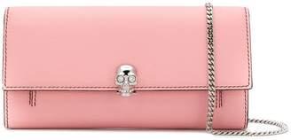 Alexander McQueen Skull wallet on chain