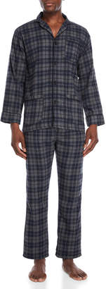 Bottoms Out Two-Piece Charcoal Pajama Shirt & Pant Set