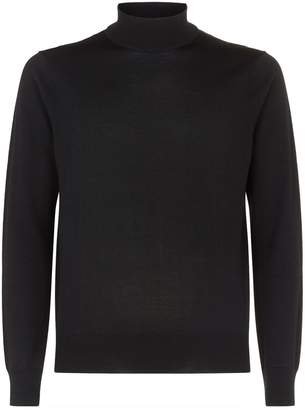 Sandro Wool Turtleneck Sweater