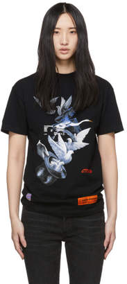 Heron Preston Black Doves Fitted T-Shirt