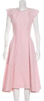Nina Ricci Embellished Midi Dress
