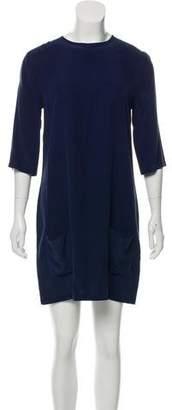 Equipment Aubrey Silk Mini Dress