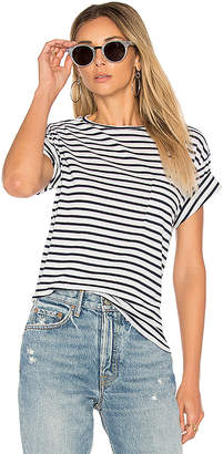 ANINE BING Striped Tee in Blue