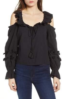 Rebecca Minkoff Pippa Cold Shoulder Top