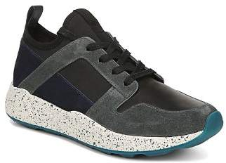 Vince Women's Galvin Mixed Media Lace-Up Sneakers