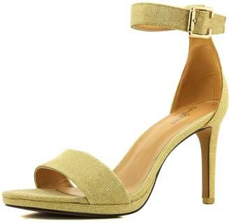 DailyShoes Women's Open Toe Ankle Buckle Strap Platform Evening Dress Casual Sandal Shoes