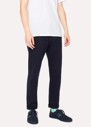 Paul Smith Men's Tapered-Fit Dark Navy Denim Jeans
