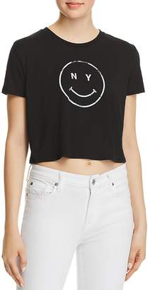 Knowlita NY Smiley Cropped Tee - 100% Exclusive